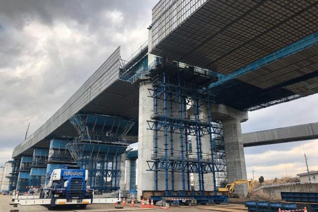 【施工実績21】静岡県の新東名新設工事