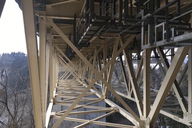 【施工実績4】関越自動車道上り線 入沢川橋の塗替工事完了