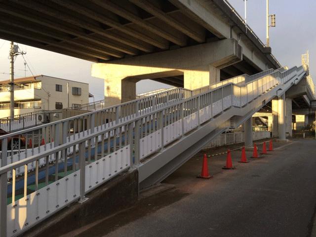 【施工実績6】埼玉県土発注 十間通陸橋側道完了/元請D社