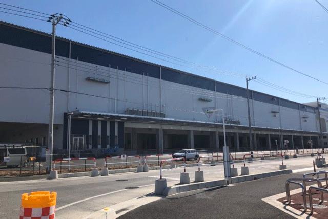 【施工実績19】桶川市の新築物流センターの外壁塗装工事