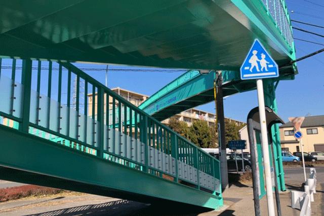 【施工実績7】さいたま市発注の西遊馬歩道