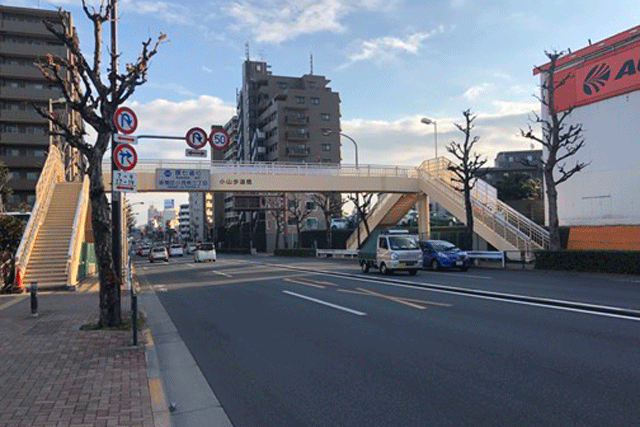 【施工実績9】東京都発注の小山歩道橋