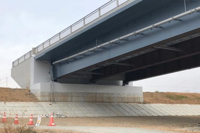 【施工実績10】群馬県発注の新鏑川橋