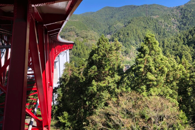 【施工実績13】相模湖東インター近くの橋梁