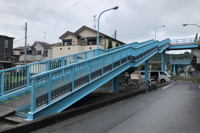 【施工実績15】小川町の中央陸橋